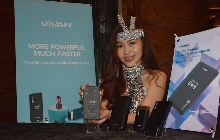 Powerbank Vivan VPB-W10 Tawarkan Teknologi Quick Charge Wireless